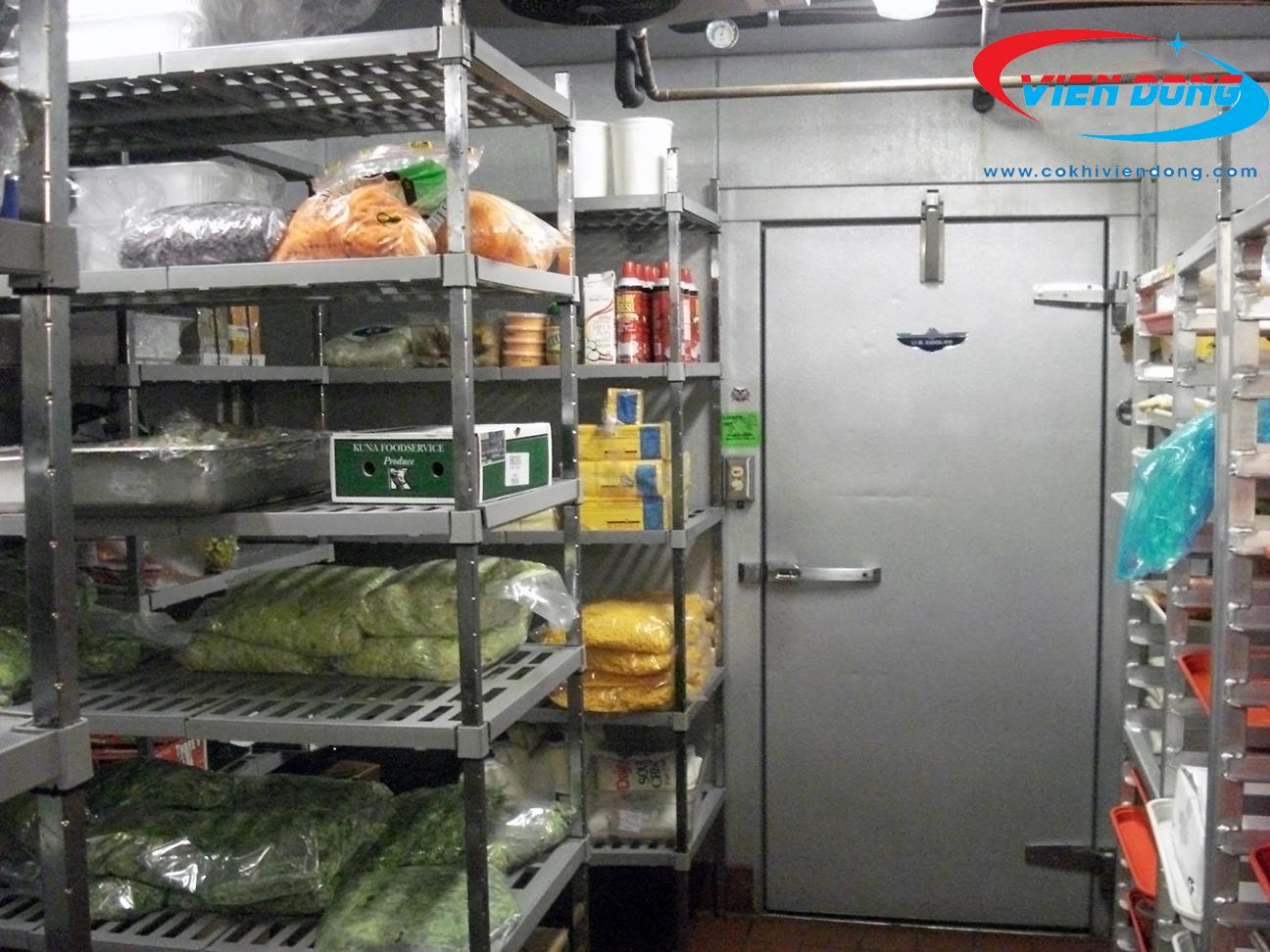 Khu kho lạnh bếp công nghiệp