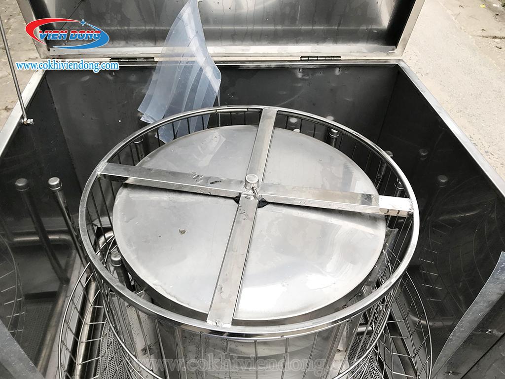 Bồn chứa nước máy rửa chén dĩa xoay 800
