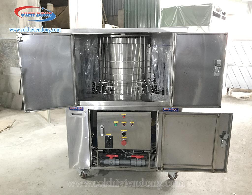 Toàn bộ bên trong máy rửa bát VD800