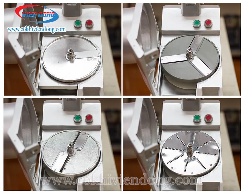 Các loại lưỡi dao của máy cắt rau củ