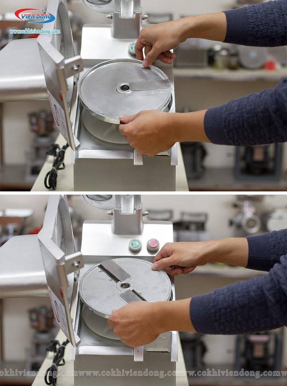 Lưỡi dao thái sợi máy cắt rau củ