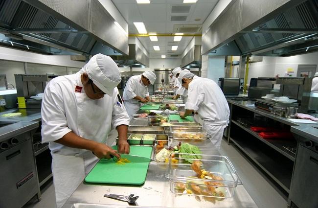 Tiêu chuẩn màu sắc trong gian bếp