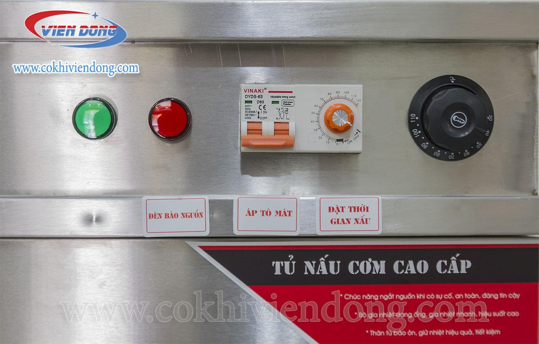 bảng điều khiển của tủ