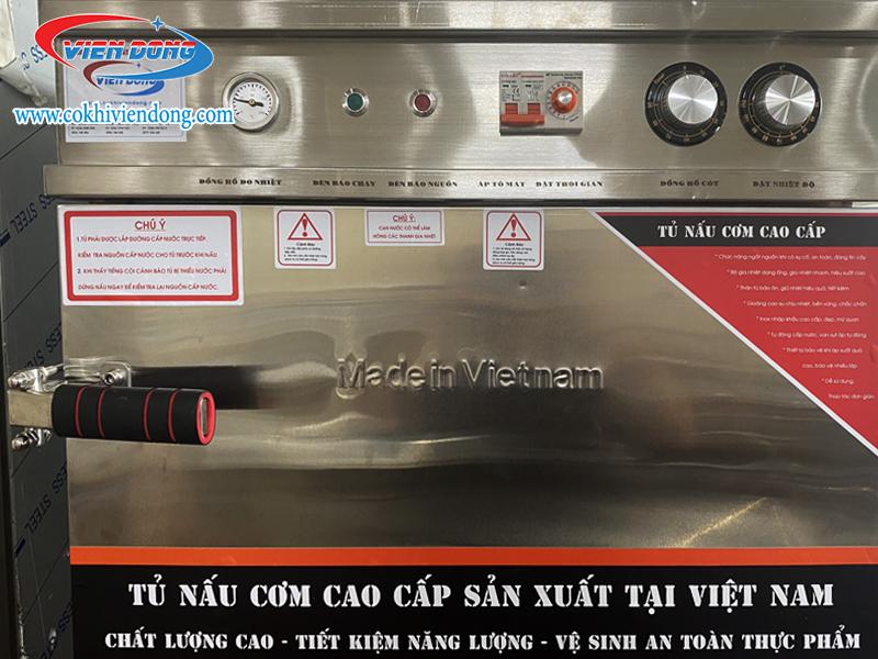 Hướng dẫn sử dụng tủ nấu cơm công nghiệp